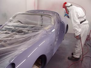 Bodyshop - respraying